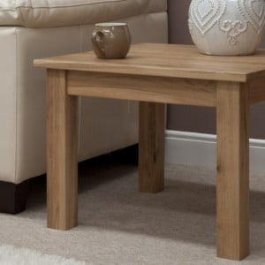 Opus Solid Oak Furniture 2ft X 2ft Square Coffee Table
